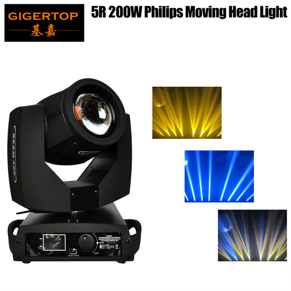 best selling TP-5R TIPTOP 200W Sharp Beam 5R Prism Moving Head Light Wedding Dancing Theater Stage Lighting adjustable Wash Frost Effects Wood Frame Pack