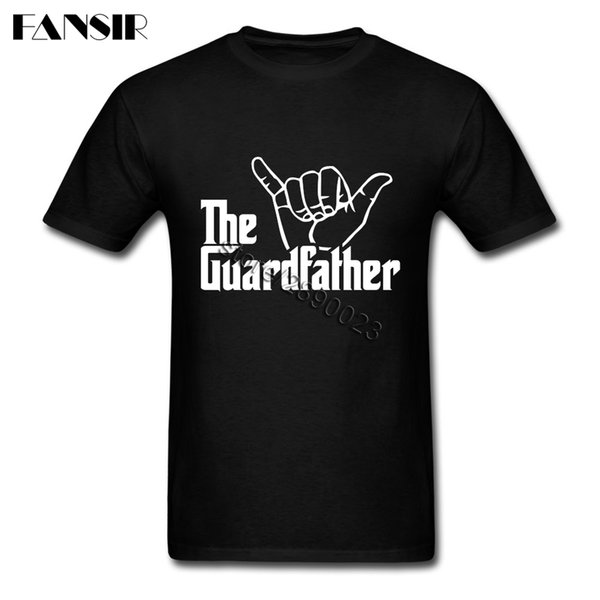 the guardfather jiu jitsu camisa summer men t-shirt short sleeve o neck t-shirt for teenage sport hooded sweatshirt hoodie