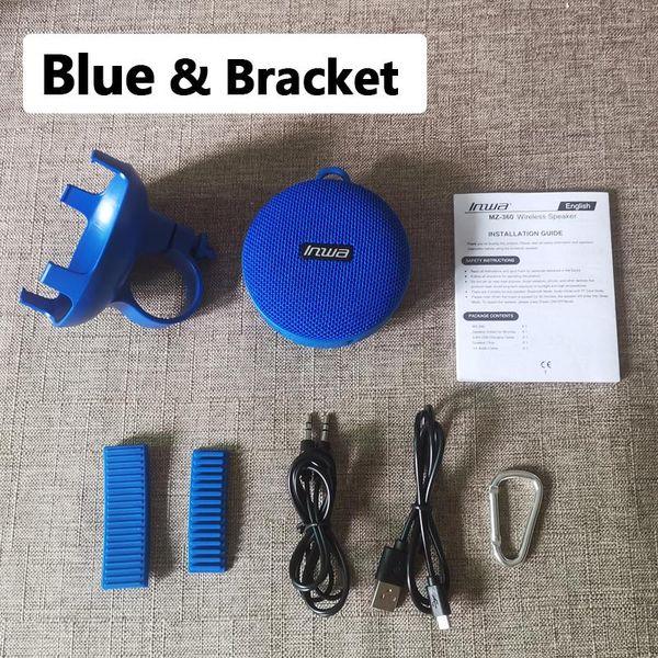 Blaue Klammer