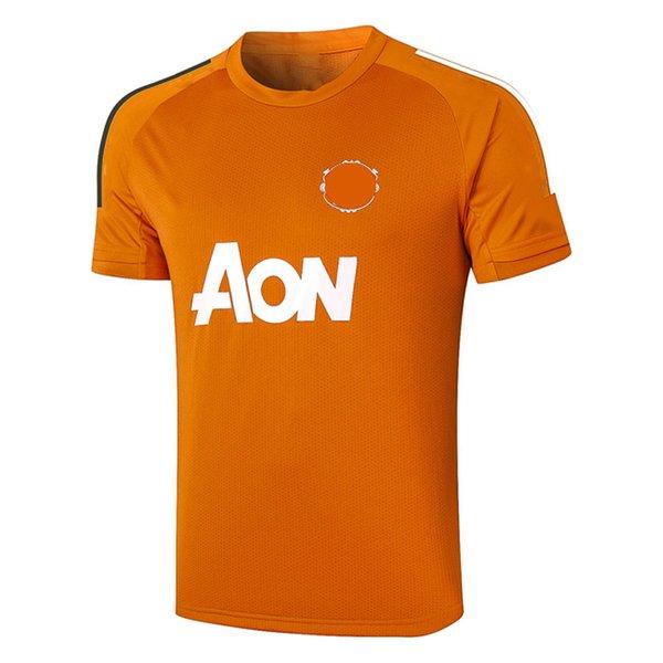 D588# 2021 Short sleeve Orange Top