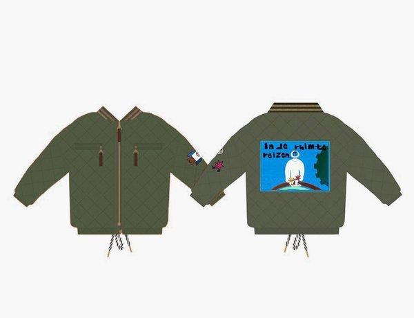 jaqueta verde