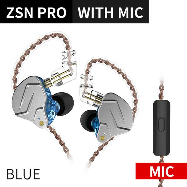 синий с микрофонным Китаем