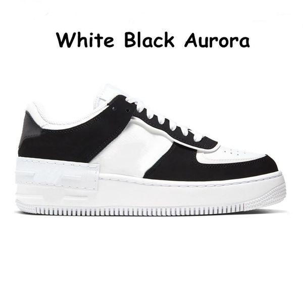 4 weiße schwarze Aurora 36-45