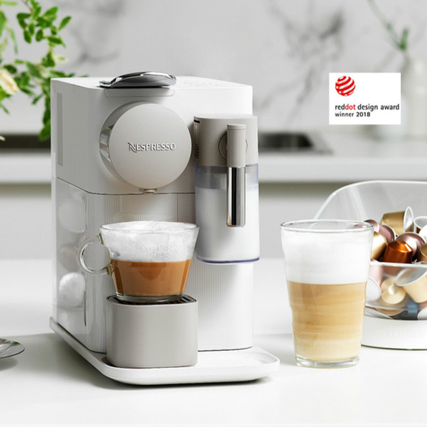 Nespresso Capsule Coffee Machine Automatic Imported Coffee Maker Household and Commercial Espresso Machine and so on Brand Name : OLOEY Origin : IT(Origin) Housing Material : Plastic Model Number : F111 Power (W) : 1150 Certification : CE Voltage (V) : 220V Product Name : Coffee machine Brand : NESPRESSO Color : White, black