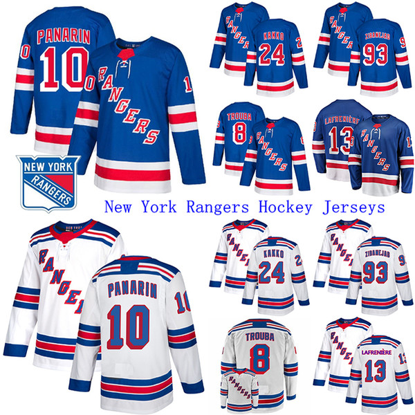 top popular 2019-20 New York Rangers Jersey 10 Artemi Panarin 24 Kaapo Kakko 23 Adam Fox 13 Alexis Lafreniere Hockey Jerseys 2021