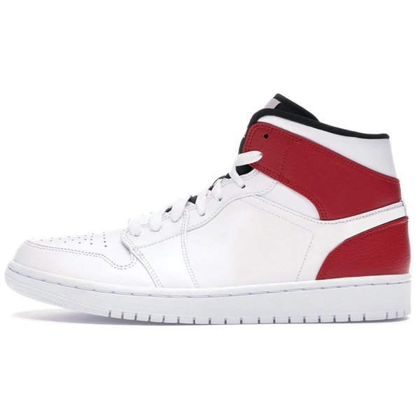 Mid White Black Gym Red 5.5-12
