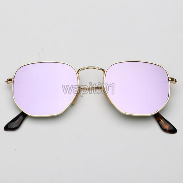 Miroir en or / lilac