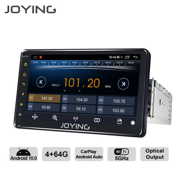 "best selling Intelligent System Car Multimedia Player JOYING Android 10.0 Octa Core 4GB 64GB 6.2"" 7\"" 8\"" universal radio stereo GPS Navigation supp..."