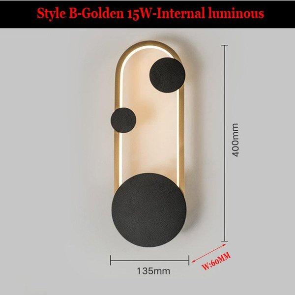 Estilo b-gold china luz quente