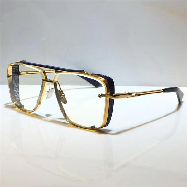 gold blue clear lens (NO.2)
