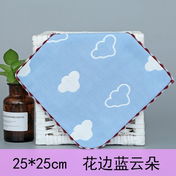Lace Blue Clouds-25x25cm .. # 41120