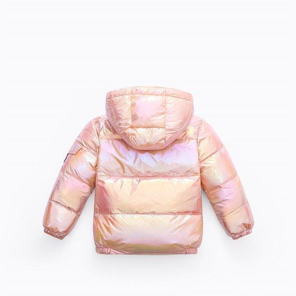 Vergoldeter Pink (Wäsche Kostenfreie Down Jacket)