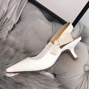 White + Leather [6cm]