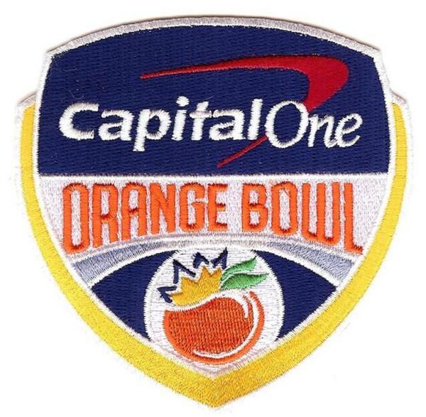Orange Bowl Patch