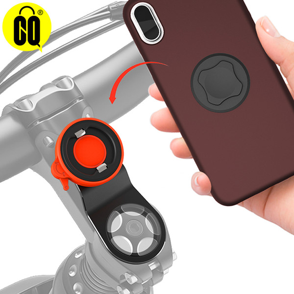 Wholesale aluminum bike stand resale online - ells Telecommunications Bike mount outdoor phone holder bicycle phone holder navigation stand Mountain bike mobile phone aluminum allo