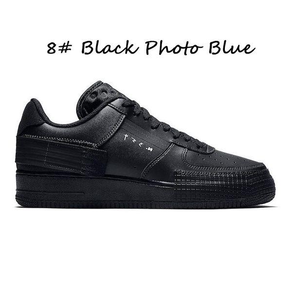 # 8 negro foto azul