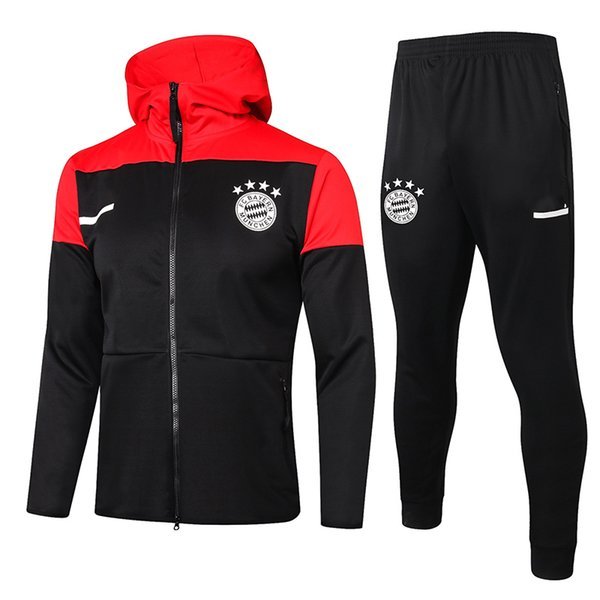 Bayernn Black 2021 Hoodies Jacket