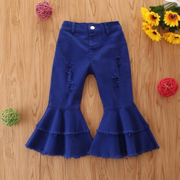 # 3 дети девочки джинсы-клеш