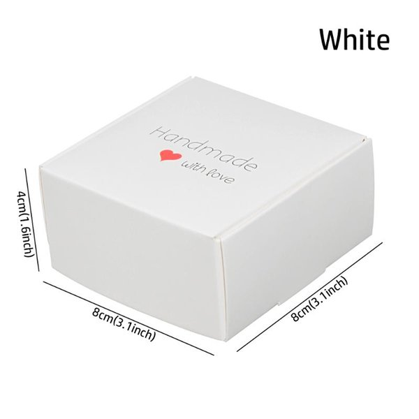 8x8x4cm weiß.