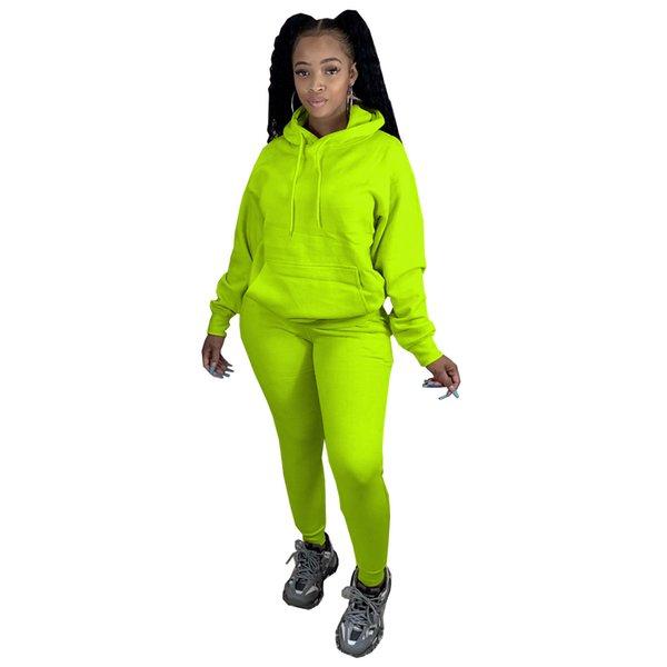 Leuchtendes Grün