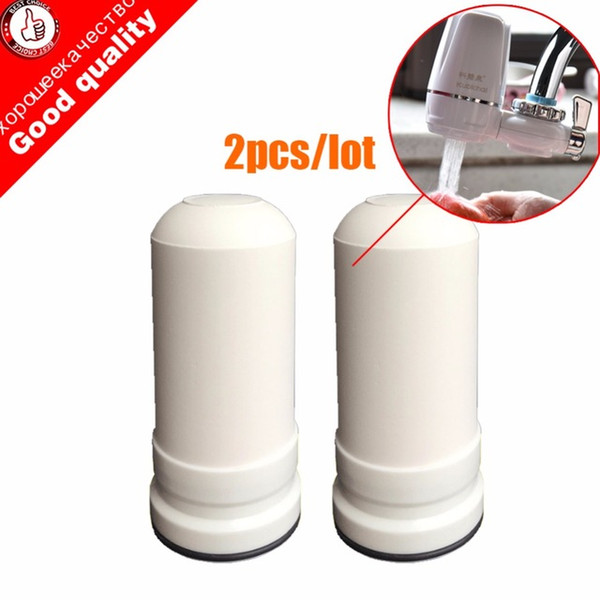 best selling Filter Parts 2pcs lot WaterFilter Cartridges for kubichai Kitchen Faucet Mounted Tap Water Purifier activated carbon tap filtros filter