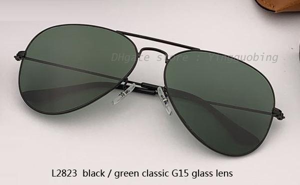 L2823 أسود / كلاسيكي G15 عدسة