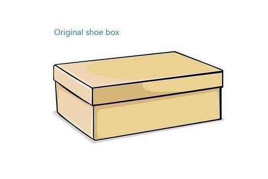 Precisa de sapatos caixa
