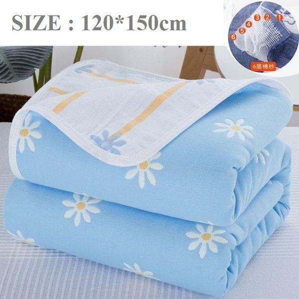 Mavi Çiçek120x150