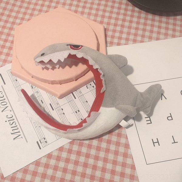 Banda de cabelo de tubarão # 10015
