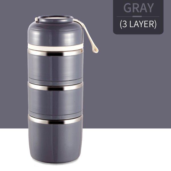 3 capas gris