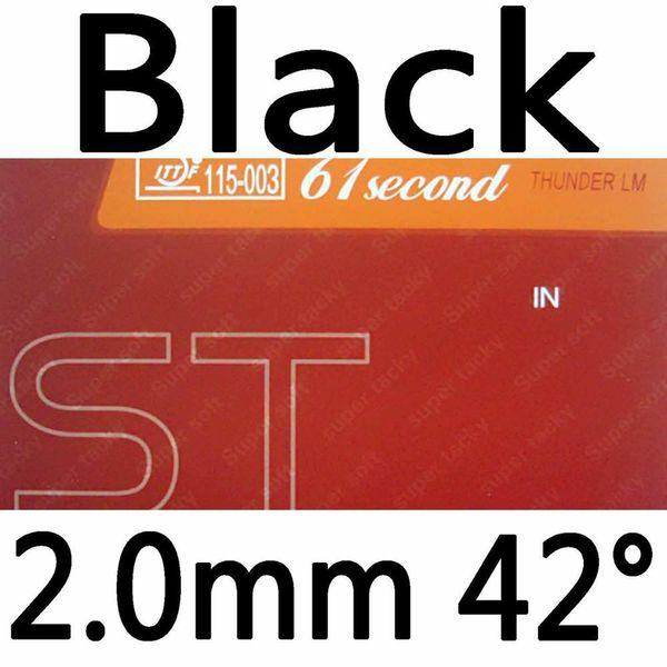 Black 2.0mm H42
