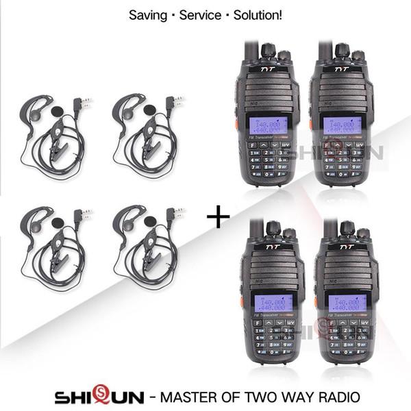 Китай 4 радиоприемники-4 Гарнитуры