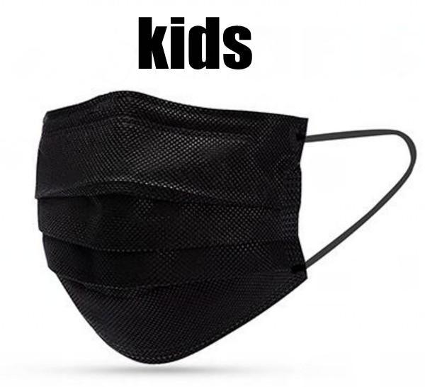 Kinder schwarze Maske