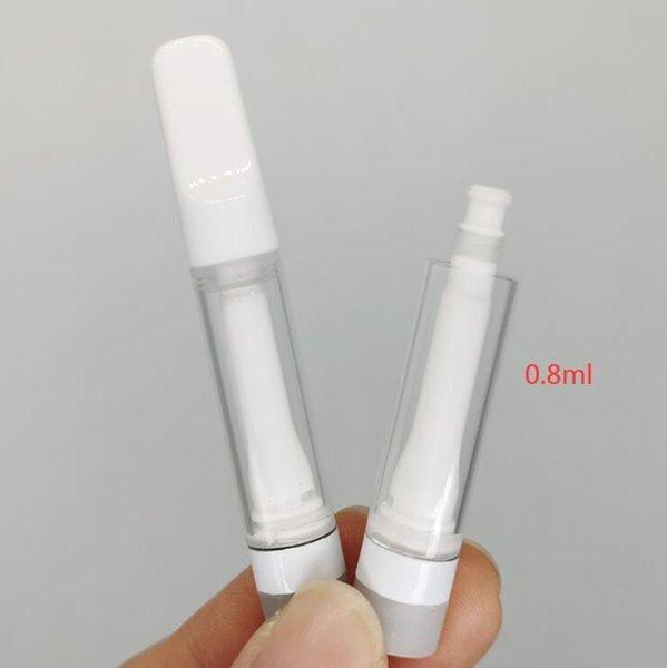 흰색, 0.8ml, 거품 포장