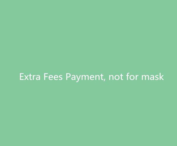 Taxas extras não máscara