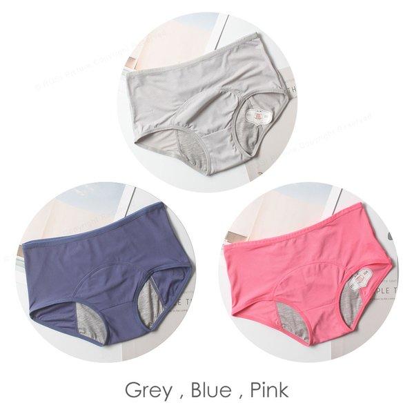 Grau, Blau, Pink