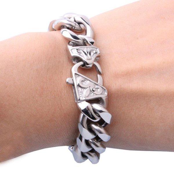 Silver 12mm 7 inch Bracelet
