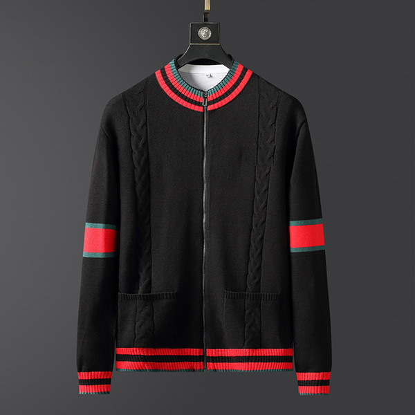 best selling bee Sweater for men Sweatshirts Pullover Long Sleeve Shirts Autumn Spring Winter fashion clothing embroidery letter man black Sweaters M-3XL