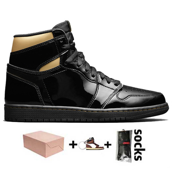 D2 High OG Black Gold 36-46