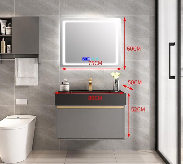 armadietto a specchio 80CM + intelligente