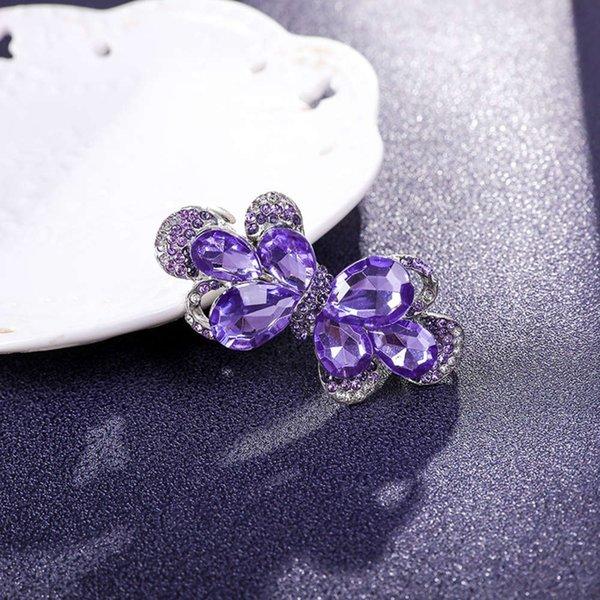 蝴蝶结 6 公分 紫罗兰