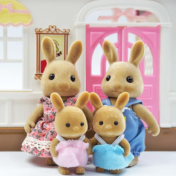 Kahverengi Tavşan Aile
