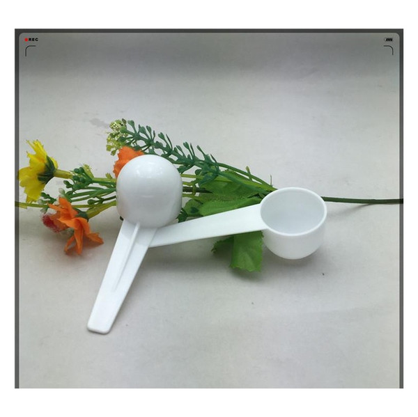 best selling Measure Plastic Spoon Plastic Measuring Scoop 5g Measure jlliJu yummy_shop