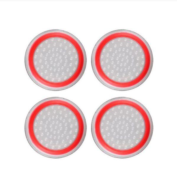 Прозрачный красный круг