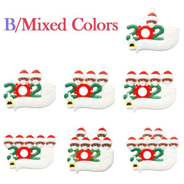 B / colores mezclados
