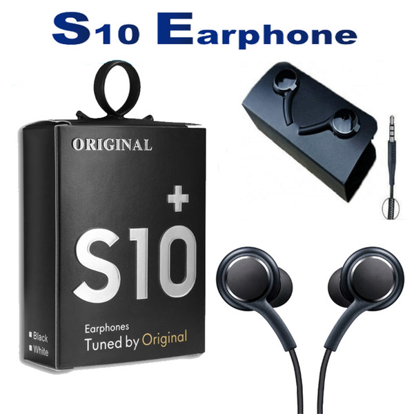 best selling Earphones For Samsung S10 S8 S9 OEM Earbuds Earphones Bass Headsets Stereo Sound Headphones With Volume Control