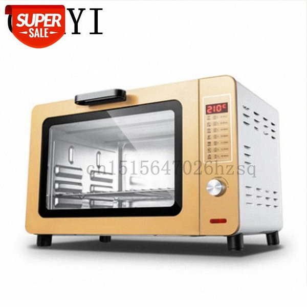 top popular CUKYI Multi-functional Electric household Baking Oven 1500W big power 30L capacity use for making bread, cake, pizza #4X2J 2021
