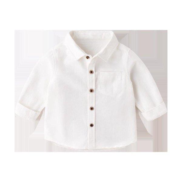 Ivory White Lapel Shirt