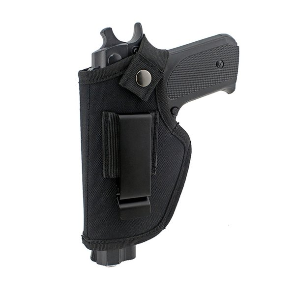 top popular carry Concealed tactical nylon holster IWB OWB gun holster with magazine slot and interchangeable metal clip 2021