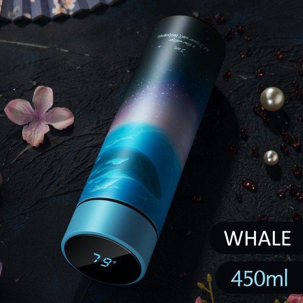 Whale-Display della temperatura
